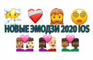 Новые эмодзи 2020 в iOS