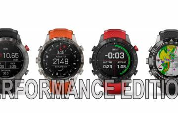 Garmin презентовала сразу 4 вида часов Performance Editions